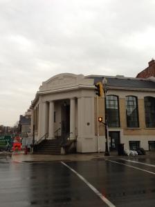 Carnegie Gallery on King Street W and Ogilvie Street, Dundas